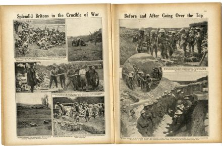 1916 WW1 Magazine SOMME ADVANCE 1 JULY Regiments GOMMECOURT Deccan Horse (2010)